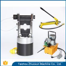 Chinesische Nuss-Teiler-Kabel-Presse bearbeitet die Kräuselungs-Schlauch-Maschine hydraulisch