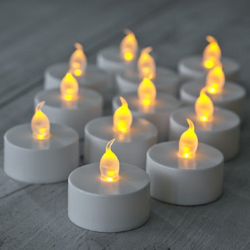 flameless battery LED tealight candle