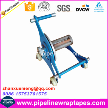 Hand manual tape wrap machine for pp tape
