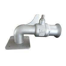 Válvula especial de aço inoxidável do produto de aço inoxidável da carcaça do OEM ODM