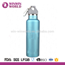 High quality double wall stainless steel sport drinking bottle with wide mouth 500ml
