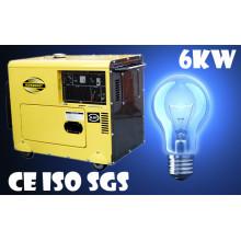 Дизельный генератор от производителя / 6kVA дизель-генератор