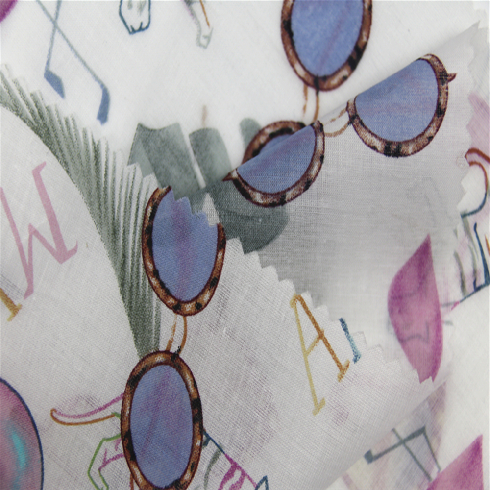 Cotton Voile Printing