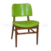 (Sp-ec601) Cafetería clásica Silla de madera del café de la tapicería de Starbucks