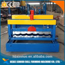 nuevo diseño de la venta caliente azulejo esmaltado que forma el fabricante de China de la máquina 1. la ventaja de la máquina perfiladora de azulejos esmaltados de china