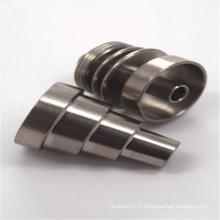 Clous en titane pour tabac avec Hexadab Universal Domeless (ES-TN-029)