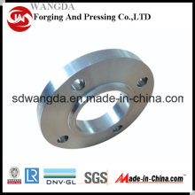 "4"" Round Pipeline Bottom Valve Connecting Flange Carbon Steel"