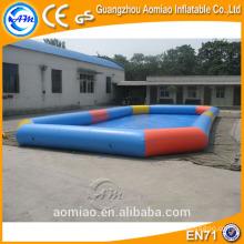 Piscina inflable inflable del rectángulo grande walmart / alquiler inflable de la piscina