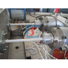 Water Supply Pvc Pipe Extrusion Line , Electric Cable Pipe Machine