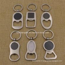 Promotion Costom Logo Bouteille en métal Porte-clés