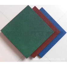 Top for Square Flooring Tiles Gym Rubber Flooring Mat supply to Dominica Supplier