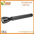 Fabrik-heißer Verkauf nach Maß 3D Zellen-Batterie-Metall-hohes Lumen Cree XML t6 L2 10W führte Japan-Taschenlampe