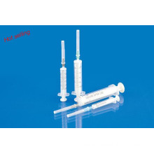 Disposable 2-Parts Syringe with CE ISO13485 GMP