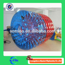 Red and blue color inflatable water roller inflatable water ball price for sale