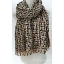 Женская Ласточка Препояшь печать длинная шаль Мыс шарф (SP299)