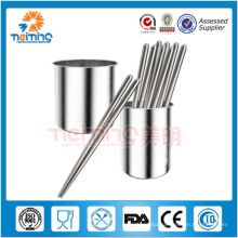 13.5cm stainless steel bamboo chopstick tube