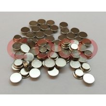 Small Appliances Neodymium Permanent Button Magnets for Motor