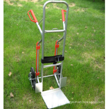 factory price 6 wheel stair climbing hand truck