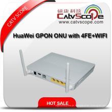 Huawei Gpon ONU Hg8546m com 1ge Portas + 3 * Fe Portas + 1 * Telefone Port + WiFi, Hg8546m com 2 Antenas