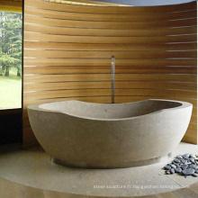 2018 nouveau design de haute qualité maison décor en pierre naturelle baignoire