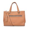 Ladies Briefcase Laptop Case Full Grain Leather Bag