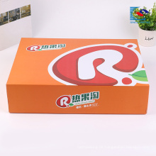 Farbenreiches kundenspezifisches nützliches Designkind spielt gewölbten Verpackenkasten