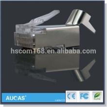 FTP cat7 conector rj45 8P8C cable de red modular enchufe mayorista precio