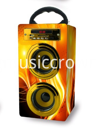 Assorted Colour Great Portable Bluetooth Speaker