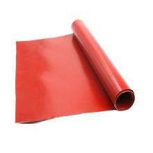 Manta ignífuga de fibra de vidrio recubierta de silicona de alta temperatura