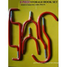 6PCS Storage Hook Set (bicycle hook set)