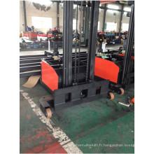 Empileur à contrepoids large à jambes larges largeur de fourche chariot élévateur à fourche non standard