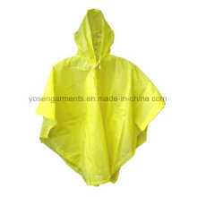 100% PVC Adult′s Rain Poncho Waterproof Poncho Workwear Work Clothes
