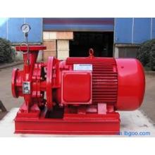Bomba de agua centrífuga de aumentador de presión de tubería horizontal de acero inoxidable