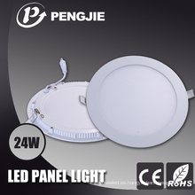 Piezas de iluminación del panel redondo de la PC LED con 3 años de garantía