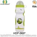 2017 Fahrrad BPA FREI PE Kunststoff Sport Wasserflasche, Kunststoff Laufsport Wasserflasche (HDP-0697)
