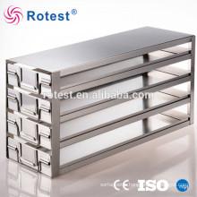 cryogenic freezer storage racks for ultra low temperature freezer