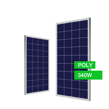Electric Generating Panel Solar Product Energy Poly 340w