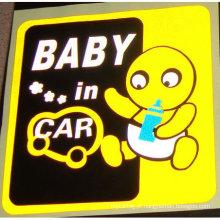 decalque do carro (etiqueta do carro, etiqueta estática)