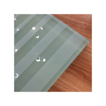 China suppliers decorative silk screen tempered glass sheets ceramic fritted glass panels