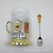 Suporte de copo do café do uso da lembrança do material do metal