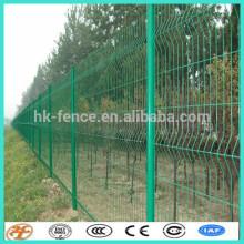 clôture de treillis métallique enduite de puissance verte enduite