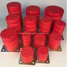 Pasajeros / elevadores de carga Amortiguadores de poliuretano Amortiguadores de PU