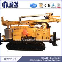200m Geotechnical Machinery Equipos de perforación de pozos de agua / Perforadoras de diamante en venta
