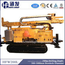 200m Drilling Depth! Hfw200L Water Well Drilling Rig