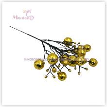 28cm X'mas Tree Ornaments Fleurs décoratives pour la décoration d'arbre de Noël