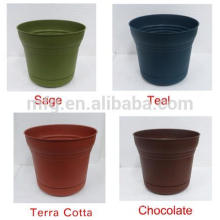small plastic flowerpot,new style round pot,cheap planter