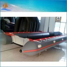 2016 novo estilo grande barco inflável para resgate, barco de motor de alta qualidade