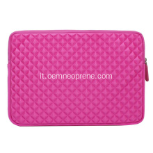 Custodie in neoprene per laptop rosa EVA personalizzate
