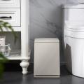 Plastic square dustbin Press type trash can