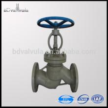 Estándar ASTM A216 WCB válvula de globo de acero fundido PN16